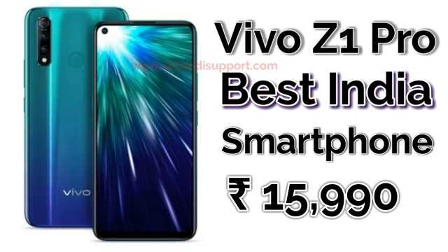 Vivo Z1 Pro Price In India, Full Review Features & Specifications